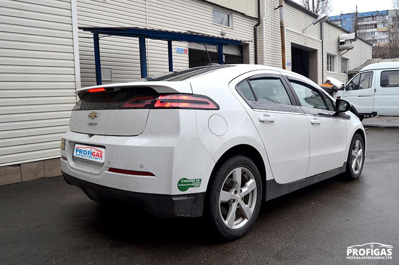 Chevrolet Volt: ГБО от PROFIGAS.Chevrolet Volt: ГБО від PROFIGAS.