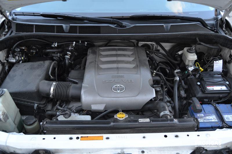Toyota Sequoia: ГБО на V8 (5.7 л).Toyota Sequoia: ГБО на V8 (5.7 л).