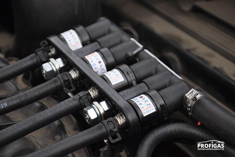 Volkswagen Tiguan: высокоскоростные газовые форсунки.Volkswagen Tiguan: високошвидкісні газові форсунки.