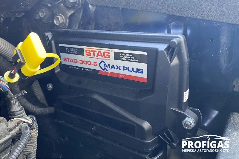 Toyota 4Runner: блок управления STAG Q-MAX PLUS.