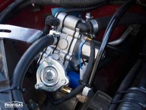 Редуктор Tomasetto АТ09 Alaska рассчитан на работу в газовых системах мощностью от 80 до 135 л.с..