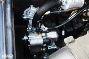 Редуктор італійської компанії Tomasetto підібрано відповідно до потужності даного автомобіля.